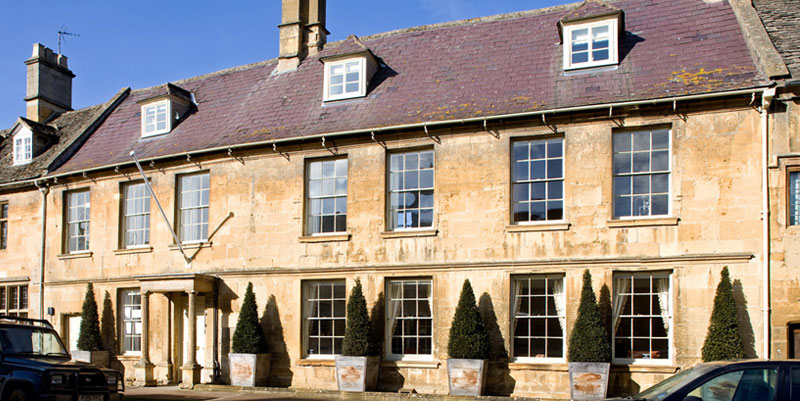 Seymour House is a beautiful Cotswold-Stone house on Chipping Campden High Street.